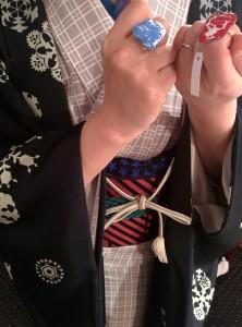 kimito とける指輪 七宝 洒落水引