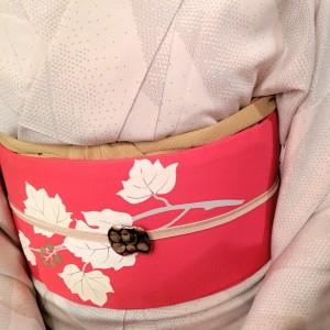kimito,帯留,七宝焼,着物,着物コーディネート (1)