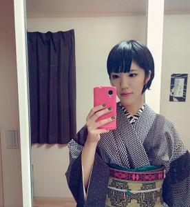 kimito,帯留,七宝焼,着物,着物コーディネート