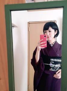 kimito,帯留,着物,帯留コーディネート1