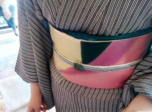 kimito,着物,帯留,七宝焼,着物コーディネート,帯留コーディネート,8