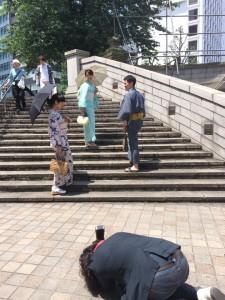 kimito,kimonoto,kimono,日本橋,着物,着物コーディネート,七宝焼a