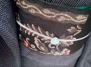 kimito,着物,帯留,七宝焼,着物コーディネート,帯留コーディネート,2