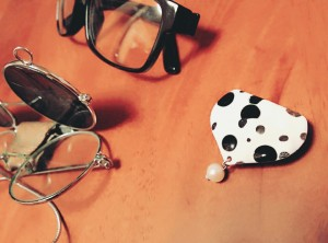 kimito,帯留,キモノ,着物,七宝焼,着物コーディネート,眼鏡,メガネ